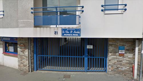 Image de mon cabinet de nutritionniste et diététique prise par Google Map sur Lannion