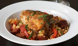 Image d'un poulet chorizo diététique