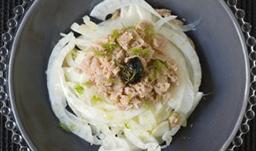 Illustration d'une recette de salade diététique