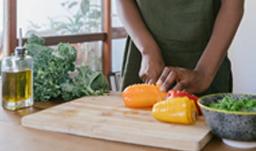 Image de l'atelier de nutrition et d'un cours de cuisine diététique